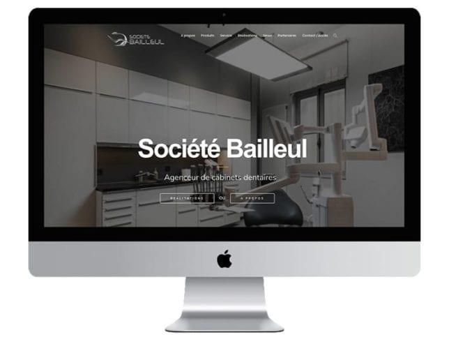 Site internet Société Bailleul